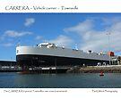 Carrera Vehicle Carrier - Townsville Port by Paul Gilbert