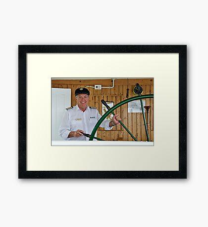 Portrait of a Stranger 4  Framed Print