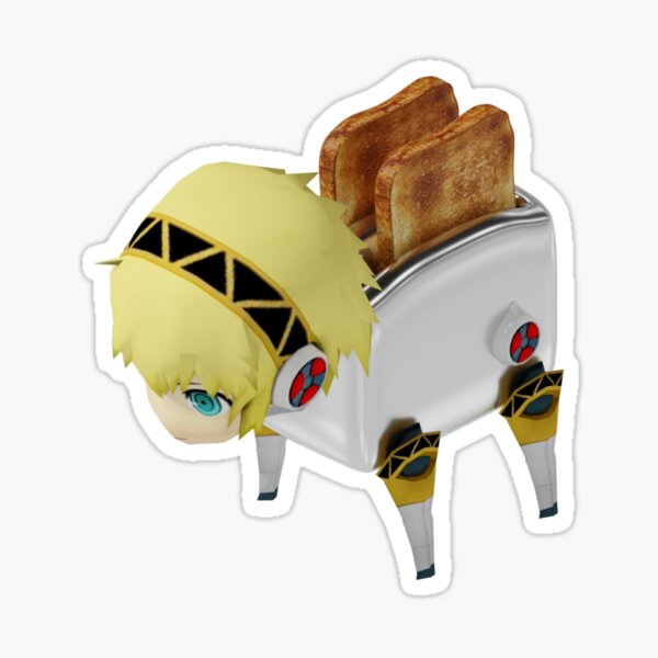 Toaster Aigis Sticker