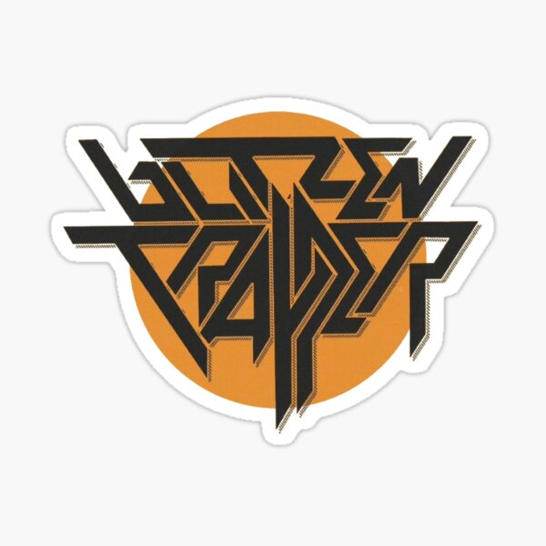 Blitzen Trapper Sun Logo Sticker
