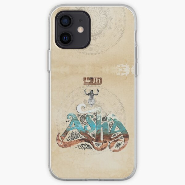 Rodin 'Asha' artwork iPhone Soft Case