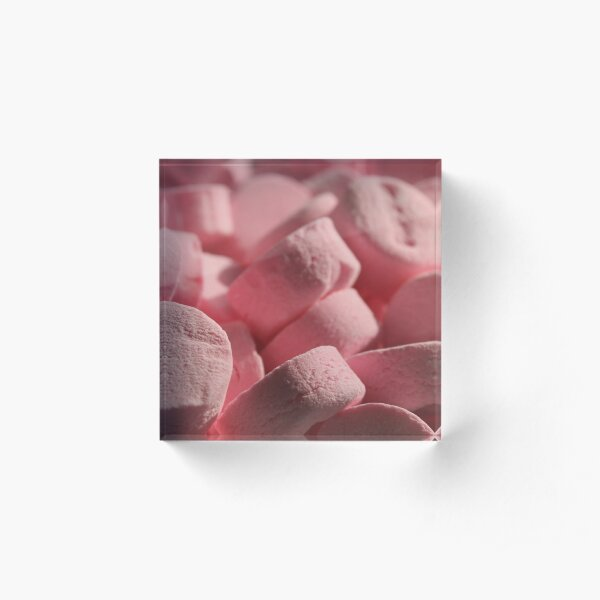 If These Are Wintergreen Mints, Why Are They Pink? Acrylic Block