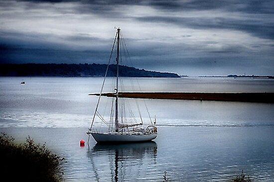 Shimmering Sea by naturelover