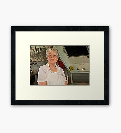 Portrait of a Stranger 5 Framed Print