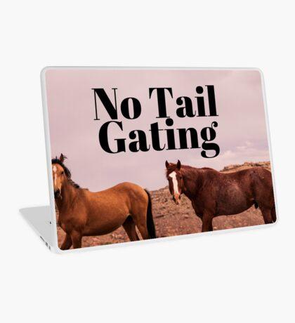 No Tail Gating Laptop Skin