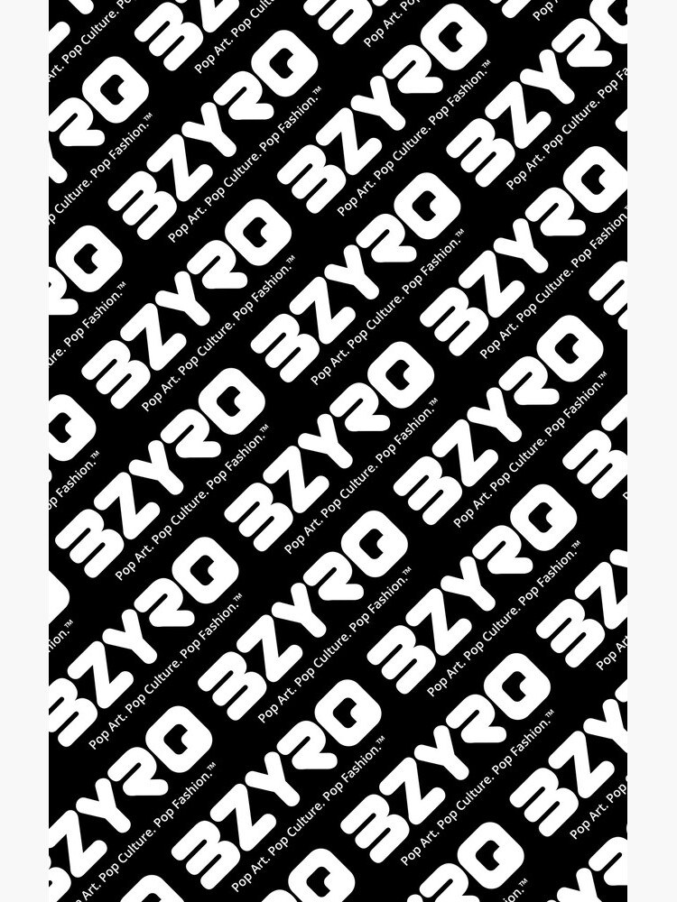 BZYRQ Logo (White on Black) by bzyrq