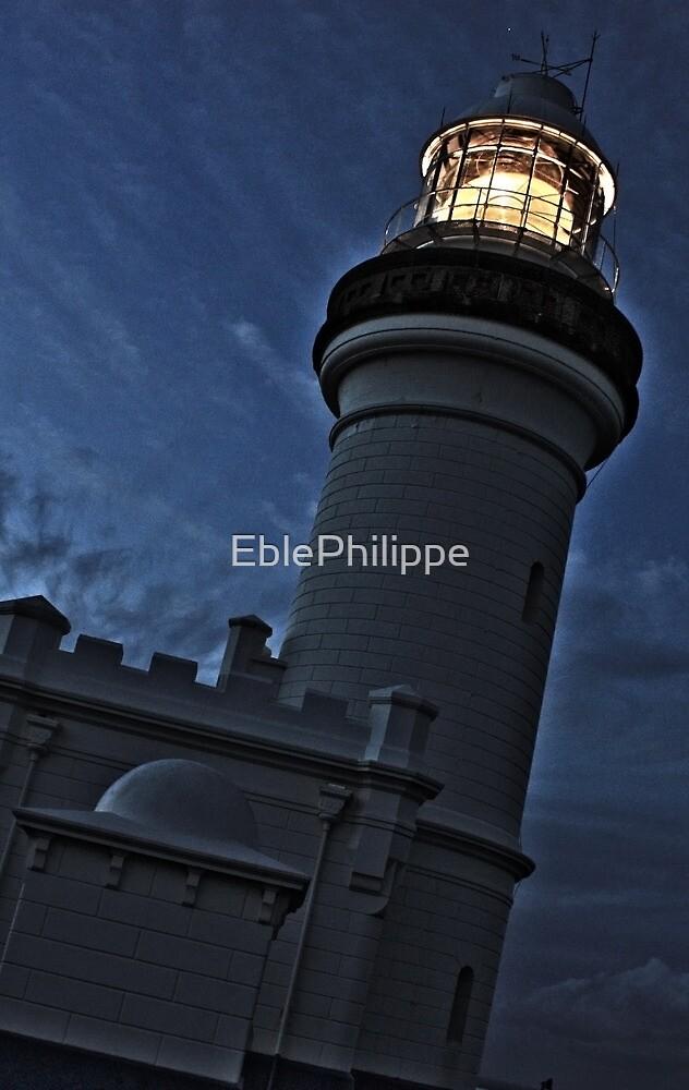 Byron Bay lighthouse by EblePhilippe
