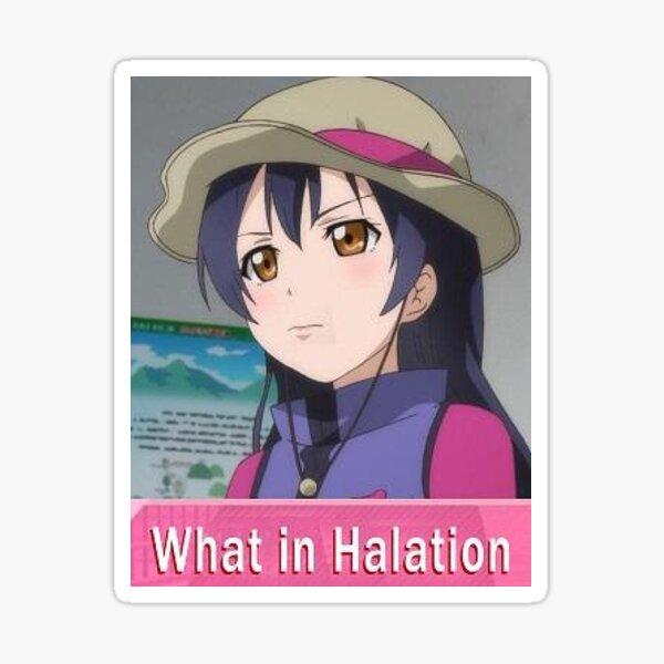 What in Halation Sticker