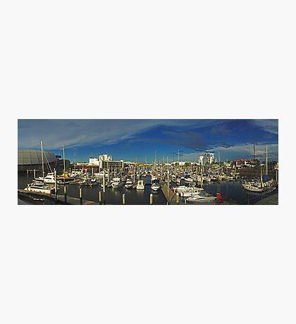 Townsville Yatch Club - Marina Photographic Print