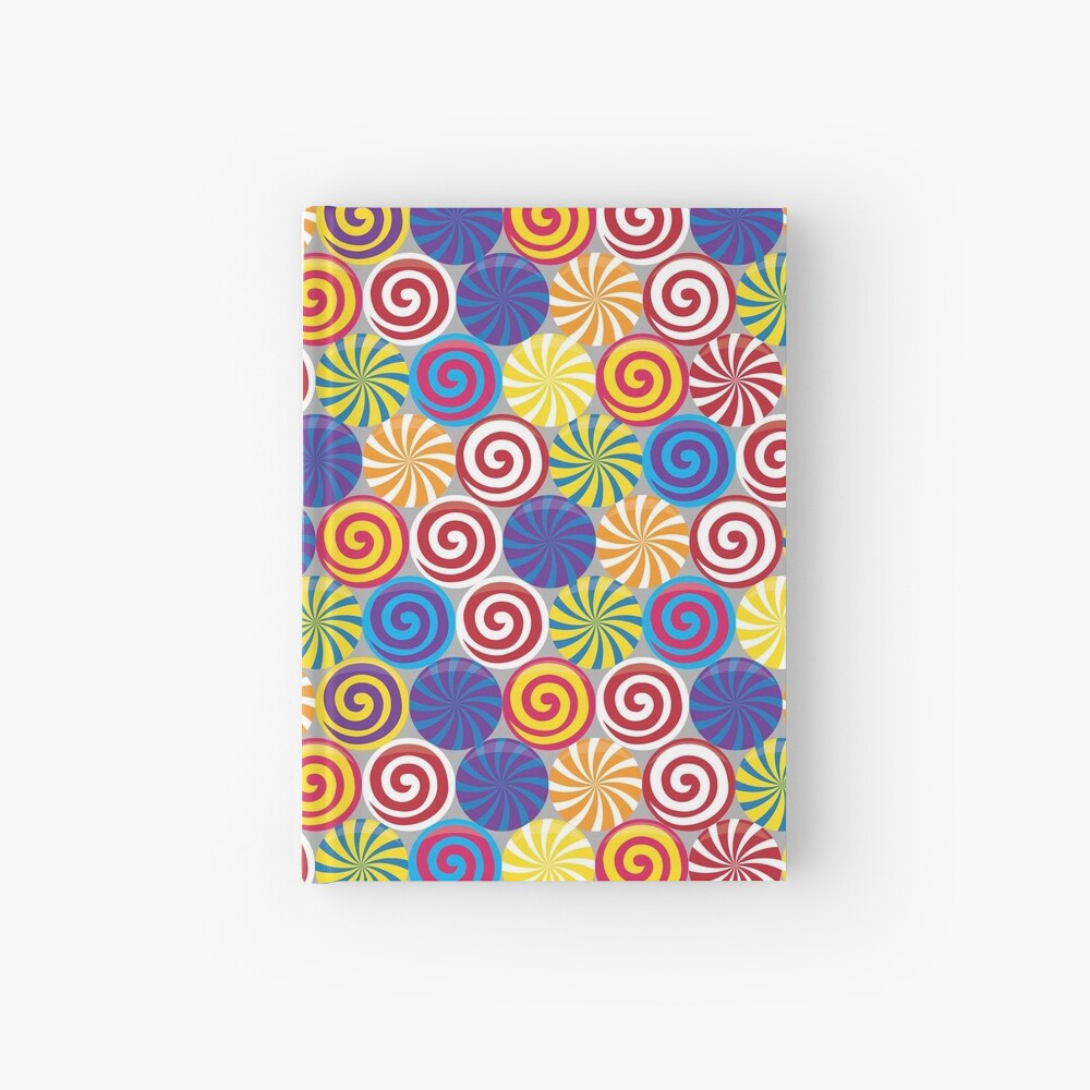 Hard Candies (Pattern) Hardcover Journal