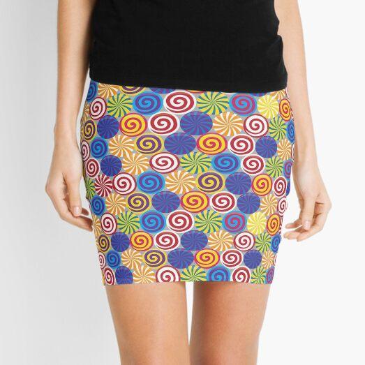 Hard Candies (Pattern) Mini Skirt