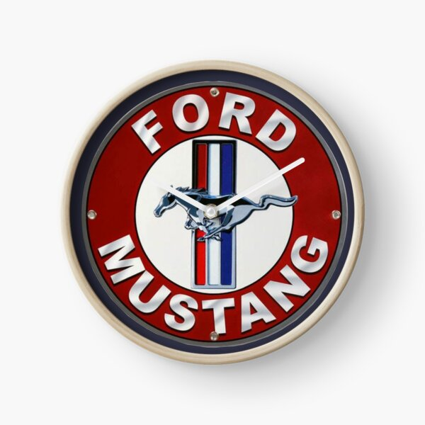 BEST SELLING Ford Mustang Merchandise Clock