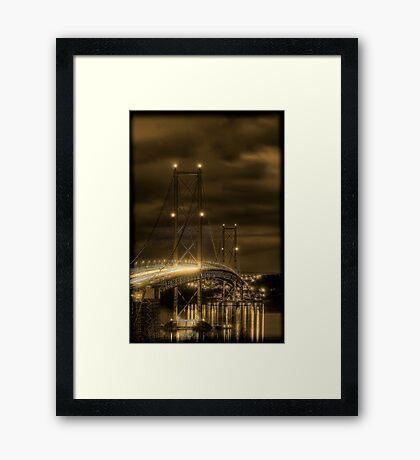 Forth Road Bridge Framed Print