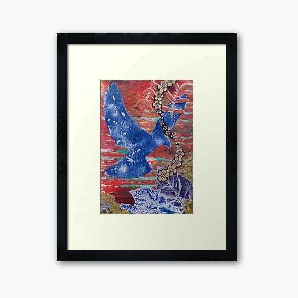 On the Wing Framed Art Print