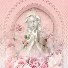 Mother Mary in blush  by MarleyArt123