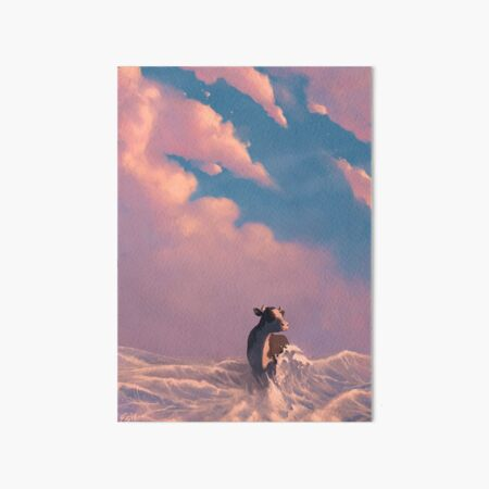 ACATS 2: Ocean Walker Art Board Print