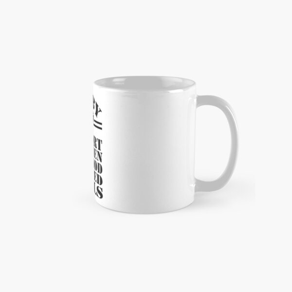 Rugby a sport for men with odd shaped balls Classic Mug