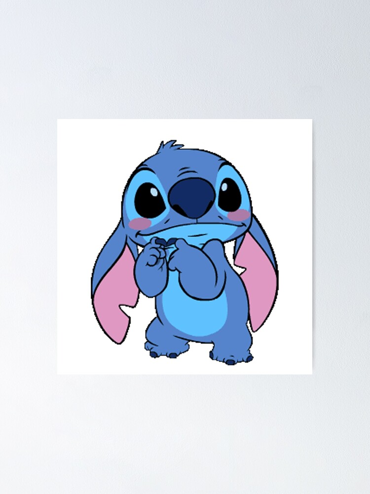 """""""cute stitch"""" Poster by abbeyleith 
