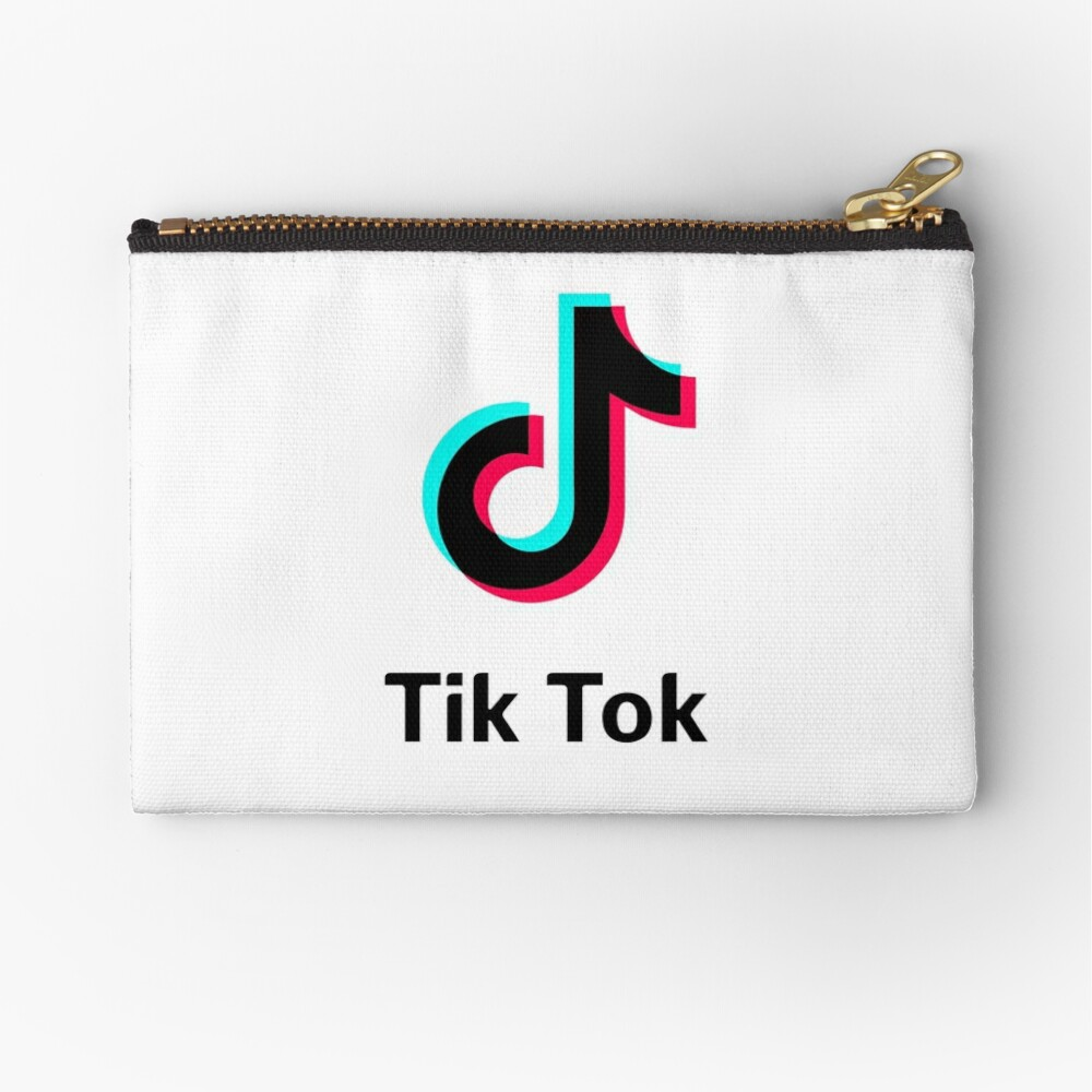 Copy of Best Seller Tik Tok Logo Zipper Pouch