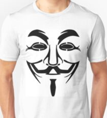 Anonymous Mask Silhouette Unisex T-Shirt