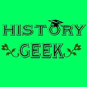 History geek geek funny nerd by danur55