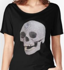 """""""Adelaide's Laughing Skull"""" Clothing Women's Relaxed Fit T-Shirt"""