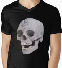 """""""Adelaide's Laughing Skull"""" Clothing Men's V-Neck T-Shirt"""