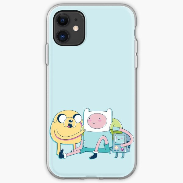 Adventure Friends (Adventure Time) iPhone Soft Case