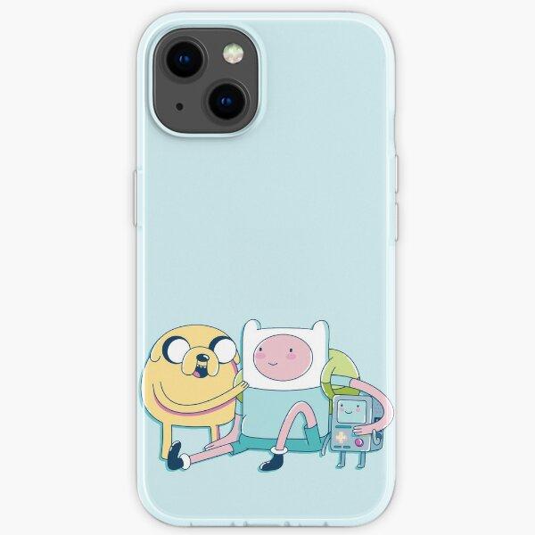Adventure Friends (Adventure Time) iPhone Soft Case