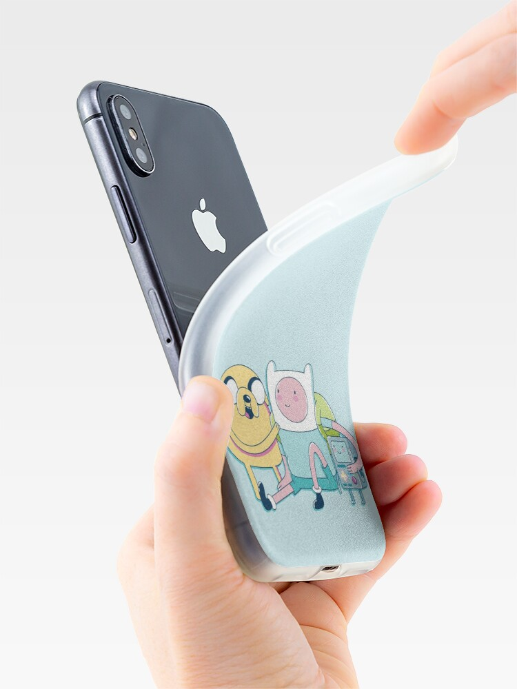 Alternate view of Adventure Friends (Adventure Time) iPhone Case & Cover