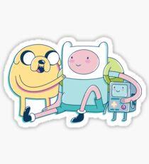 Adventure Friends (Adventure Time) Sticker