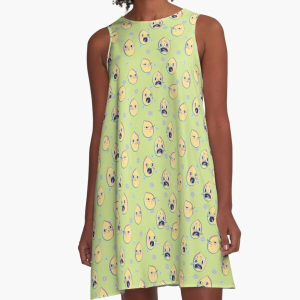 Earl of Lemongrab (Adventure Time) A-Line Dress