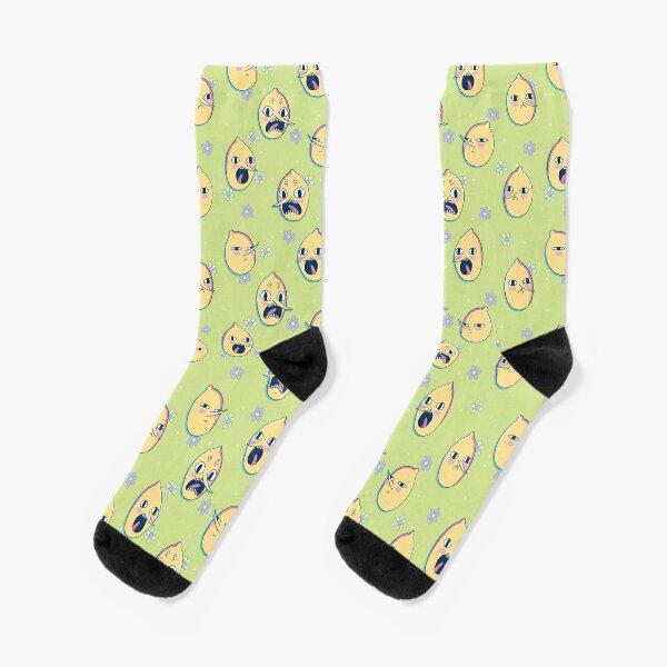 Earl of Lemongrab (Adventure Time) Socks