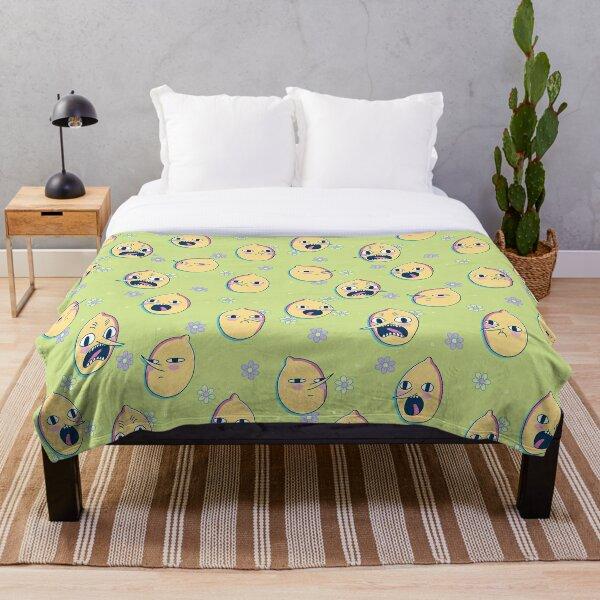 Earl of Lemongrab (Adventure Time) Throw Blanket