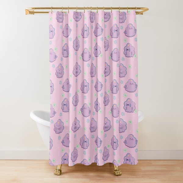 Lumpy Space Princess (Adventure Time) Shower Curtain