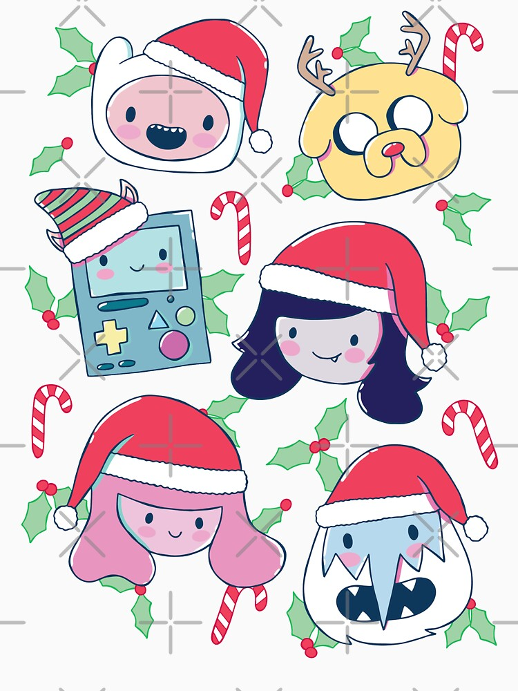 Christmas Friends (Hora de aventura) de castl3t0ndesign