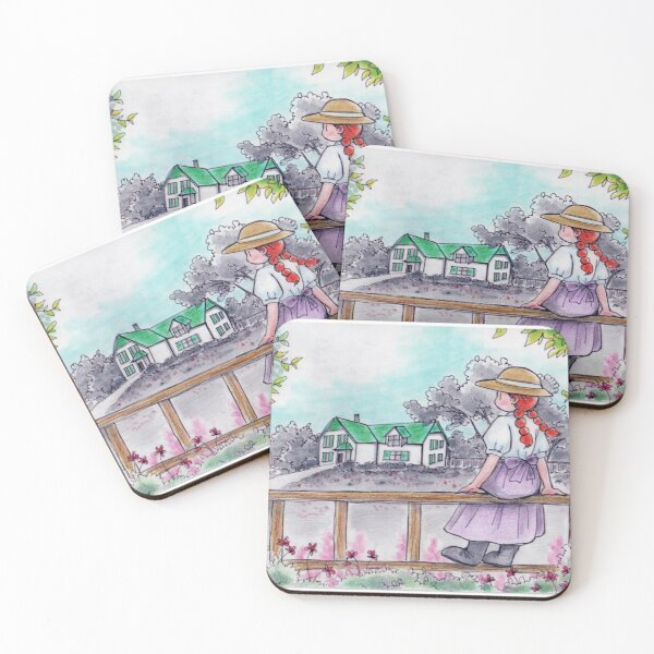 Anne of Green Gables Coasters (Set of 4)