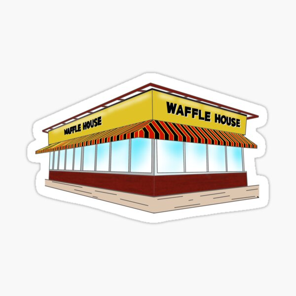 True to Atlanta: Waffle House Sticker