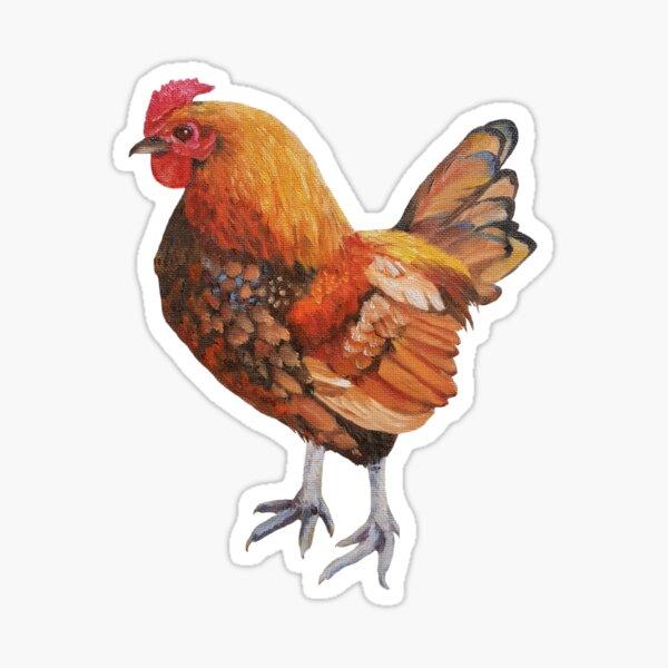 Just Chicken.  Sticker