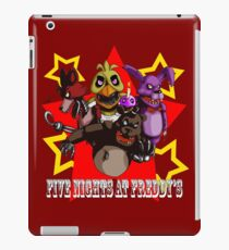 FNAF the gang iPad Case/Skin