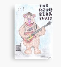 The Fozzie Bear Blues. Canvas Print