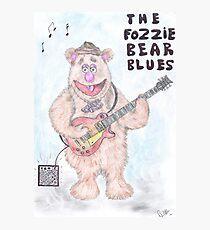 The Fozzie Bear Blues. Photographic Print