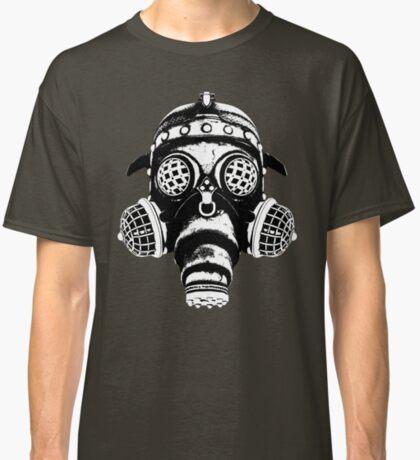 Steampunk/Cyberpunk Gas Mask #1A Steampunk T-Shirts Classic T-Shirt