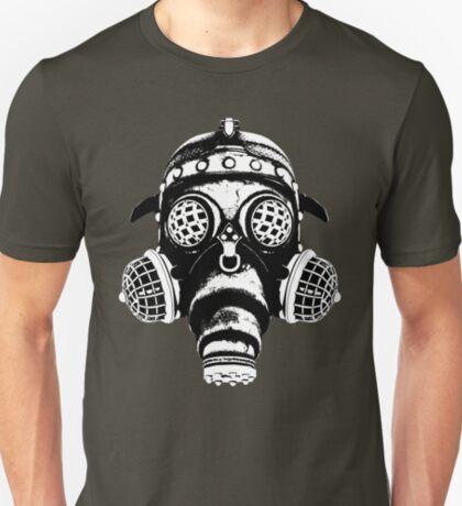Steampunk/Cyberpunk Gas Mask #1A Steampunk T-Shirts T-Shirt