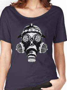 Steampunk/Cyberpunk Gas Mask #1A Women's Relaxed Fit T-Shirt