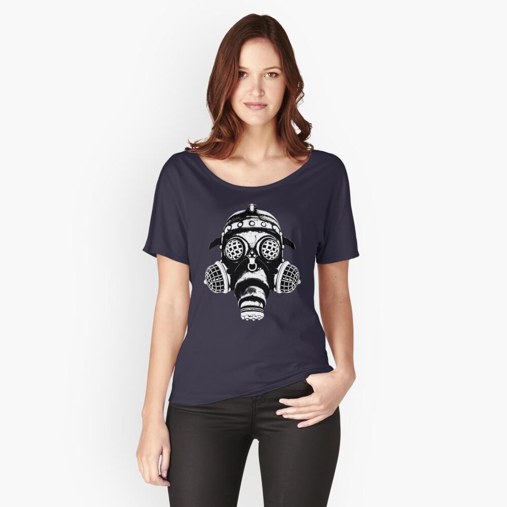Steampunk/Cyberpunk Gas Mask #1A Steampunk T-Shirts Relaxed Fit T-Shirt