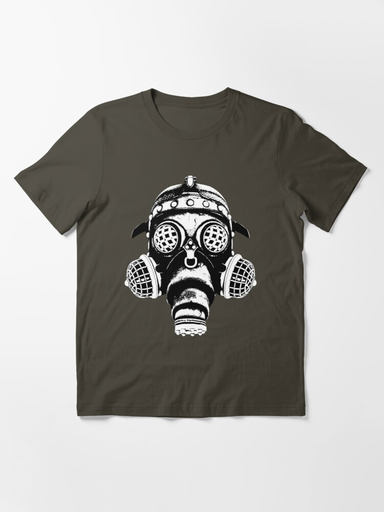 Alternate view of Steampunk/Cyberpunk Gas Mask #1A Steampunk T-Shirts Essential T-Shirt