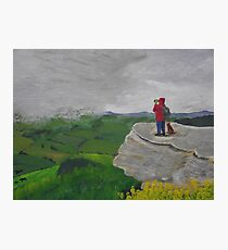 The Hillwalkers Photographic Print