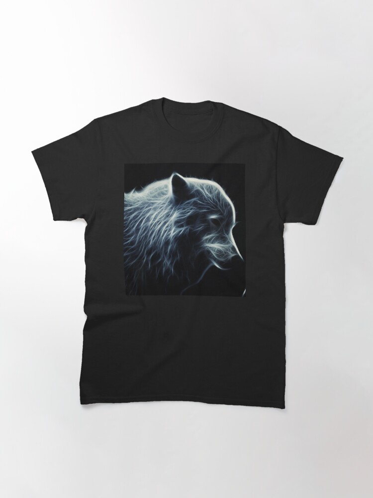 Alternate view of Wolf made of light Classic T-Shirt