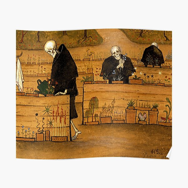 Hugo Simberg - The Garden of Death Poster